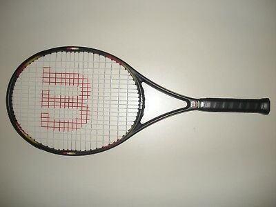Wilson Pro Staff Classic 6.1 Si Os 110 Tennis Racquet 4 3/8 (New Strings)