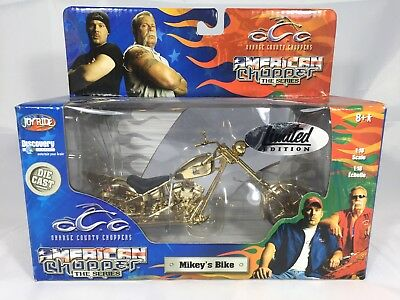 American Chopper Limited Gold Edition Mikey's Bike Motorcycle NIB