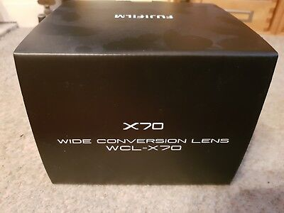 fujifilm x70 wcl-x70 wide conversion lens