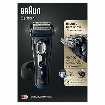 Braun Series 9 9240s Electric Foil Shaver Wet & Dry Rechargeable & Cordless *OO*