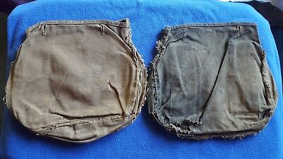Original Civil War Us Military Mcclellan Model 1859 Saddle Bag Liners Very Rare!