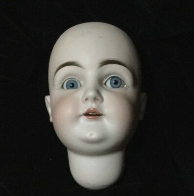 STUNNING LARGE KESTER ANTIQUE DOLL HEAD - L1/2 size 15 1/2 - FOR 22 inch BODY