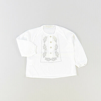 Blusa color Blanco marca Rubio Kids 12 Meses  516049