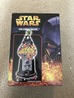 Star Wars Revenge of the Sith 2005 YODA GUMBALL MACHINE by Comic Images NIB