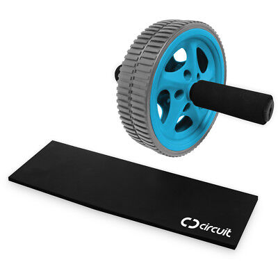 Circuit Curve Exercise Wheel with Knee Pad
