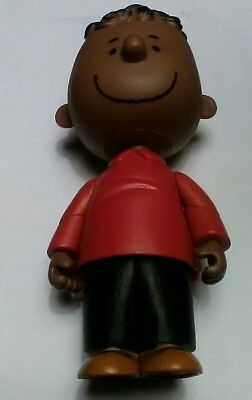 New Forever fun Peanuts A Charlie Brown Christmas Franklin Figure Doll