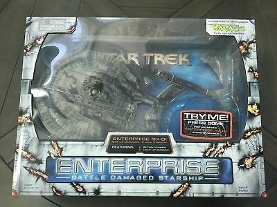 Star Trek Starship Legends - Battle Damaged I.S.S. Enterprise NX-01, 12 Inch