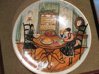 Collector Plate Anna Perenna In Box Helping Hands No.-2753 Of 5,000
