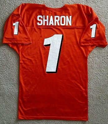 2f6f13ce5 #1 Charles Sharon Bowling Green Falcons Large football jersey Russell  Athletic