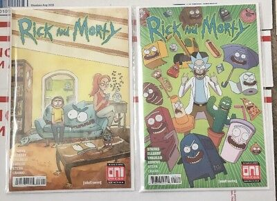 Rick and Morty #40 Both Covers! First Prints