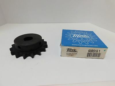 Martin 60BS16 1 Sprocket Bored to Size Sprocket NEW