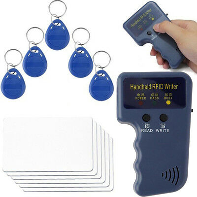 Handheld RFID Duplicator Key Copier Reader Writer ID Card Cloner Programmer