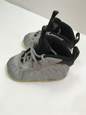55e995ae209 Nike Lil Posite Foamposite Pro Volt Crib Baby Foam Infant Size 3C Shoes