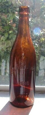 Pre Pro Reno Brewing Co. Blob Top Quart Beer Bottle. Reno, Nev.