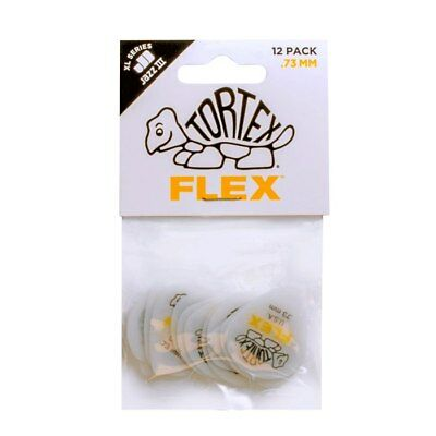 JIM DUNLOP - Tortex Flex Jazz III XL Guitar Pick Players Pack. 73mm.