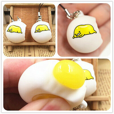 Funny Toy Novelty Gudetama Lazy Egg Squeeze Stress Reliever Venting Ball. TOP