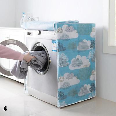 Waterproof Drum Washing Machine Top Dust Protections Top Front Cover AUBC