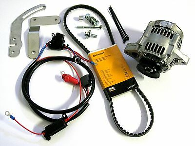 Lichtmaschine 40A Kubota Traktor B6000 Umbausatz conversion kit alternator