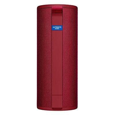 Ultimate Ears UE BOOM 3 Portable Bluetooth Speaker - Sunset Red (Free Postage)