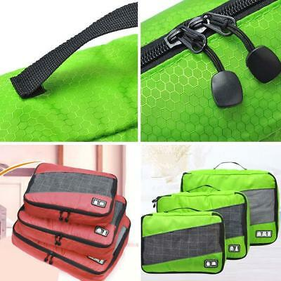 Compression Travel Packing Cubes Waterproof Carry Ons Expandable Storage Gifts