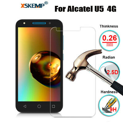 Premium Tempered Glass Film Screen Protector Protection Cover For Alcatel Phones