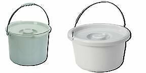 Commode Pail With Lid 12 Quart by Commodes
