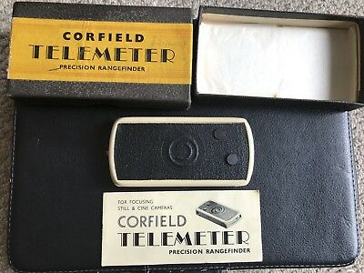 VINTAGE CORFIELD TELEMETER Precision Rangefinder- BOXED WITH PAPERWORK