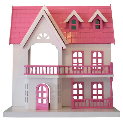 Beautifully Hand Crafted Doll House - The Edie