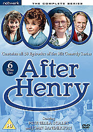 After Henry - The Complete Series (DVD, 2009, 6-Disc Set) Uk Region 2
