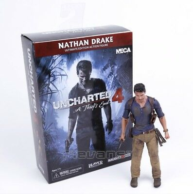 NECA/ Uncharted 4 - A thief's end/ Figura NATHAN DRAKE/ PVC/ Action Figure/ 18cm