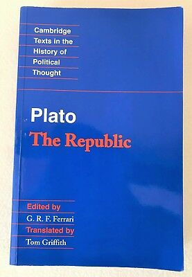 Plato - The Republic (Cambridge Texts in the History of Political Thought)