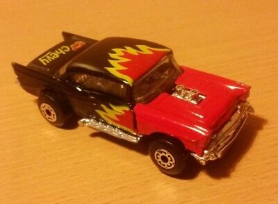 MATCHBOX 1979 Superfast 57 CHEVY Flame Design Collectors 7cm Toy Vehicle Figure