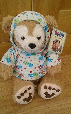 DUFFY BEAR 2011 Disney Parks With Hoodie Rare