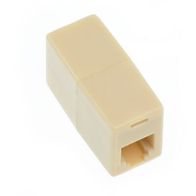 RJ11 6P4C 4 wire Coupler Female-F Phone Telephone Cable Cord Wire Joiner