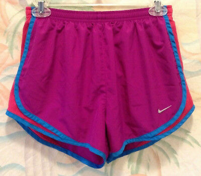 """Nike Tempo Womens 3"""" Running Shorts Size S Purple Dri-Fit Lined Athletic Fitness"""