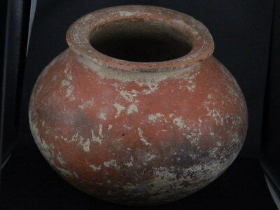 Ancient Large Size Teracotta Pot Indus Valley 2500 BC NO RESERVE #iK838