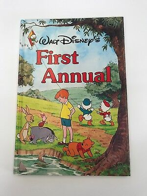 Walt Disney's  First Annual - Good Condition For Age - All Pages Complete