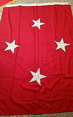 """FLAG USMC 4 star General a size 44"""" ×63 1/2""""  was $285 Now $165"""