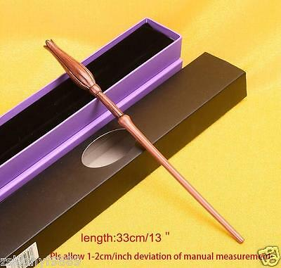 HOT Harry Potter Characters Luna Lovegood Magical Wand in Box Cosplay Props