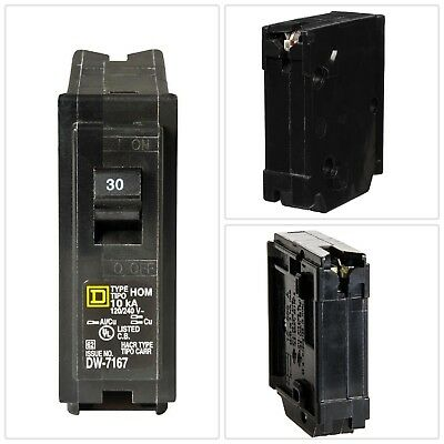 Circuit Breaker 30 Amp Homeline Plug Mounting Electrical Power Distribution New