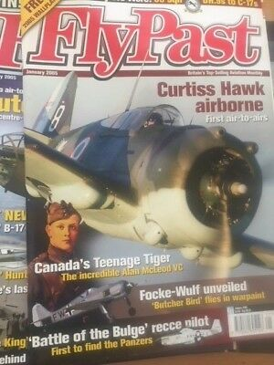 Flypast Magazine 2005 - 12 Issues