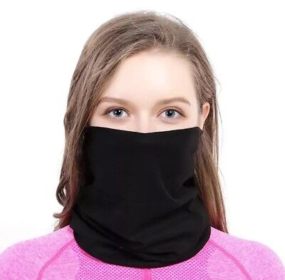 Multifunctional Face Mask Neck Scarf Headband Bike Sporting Polyester Microfibre