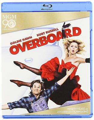 Overboard Blu Ray Region Free  Brand New & Sealed  Kurt Russell Goldie Hawn