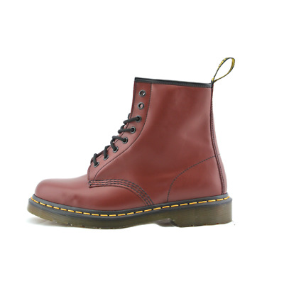 Dr. Martens 1460 stivaletto anfibio donna in pelle bordeaux cherry rouge 8  buchi 6ac2c5ceafc4