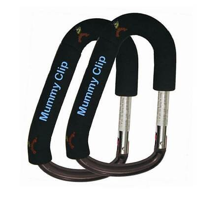 Goldbug Mummy Clip Double Pack Pushchair, Stroller Hook NEW