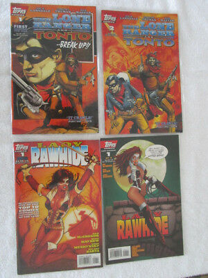 Topps Lone Ranger And Lady Rawhide Lot
