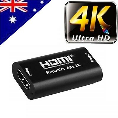 1080P 3D HDMI 4K*2K Repeater Extender Over Signal HDTV Booster Adapter ZX