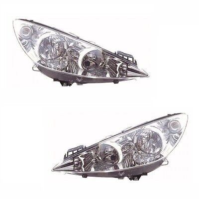 Replacement Right Left Driver Passenger Side OS NS Headlight Headlamp Kit