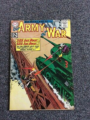 Our Army At War #116 Dc Comics Good Rare L@@k