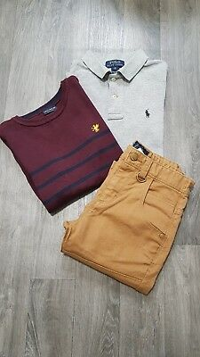 BOYS CLOTHING BUNDLE AGE 8 Years (7-8) NEXT,RALPH LAUREN,POLO,JUMPER,JEAN,OUTFIT
